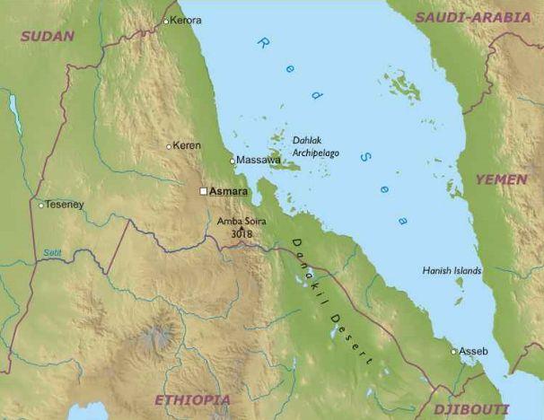Eritrea Africa Orientale Africa Paesi Home