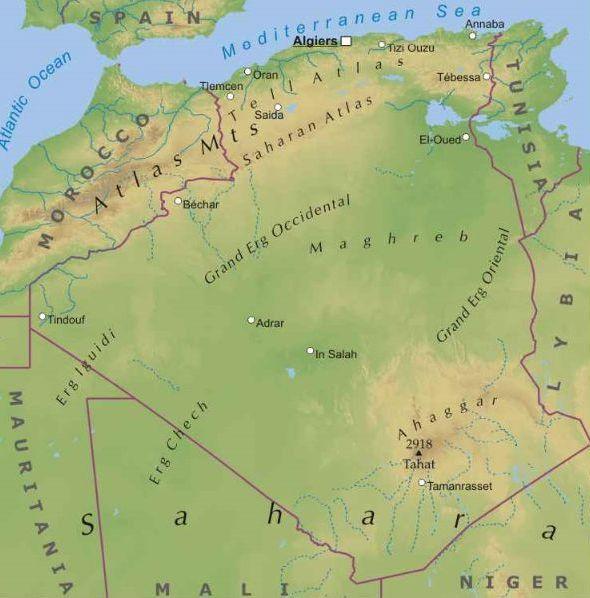 Cartina Fisica Dell Africa Settentrionale.Algeria Africa Settentrionale Africa Paesi Home Unimondo