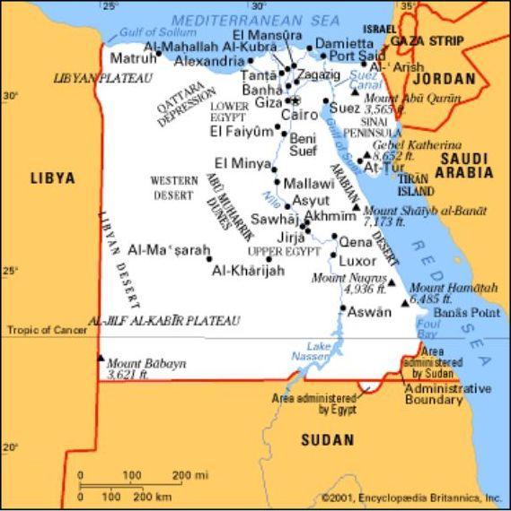 Cartina Geografica Italia Egitto.Egitto Africa Settentrionale Africa Paesi Home