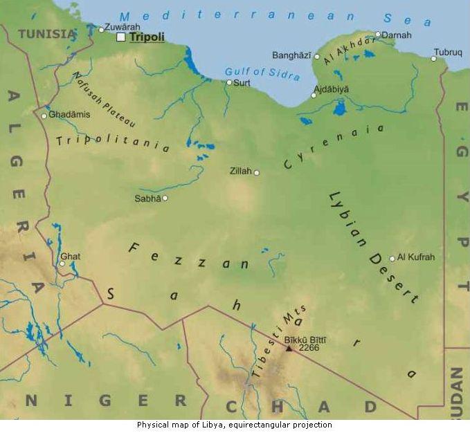 Cartina Geografica Fisica Del Marocco.Nord Africa Cartina Geografica