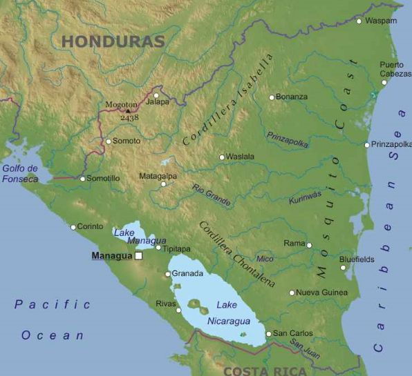Cartina Geografica Nicaragua.Nicaragua America Centrale Americhe Paesi Home Unimondo