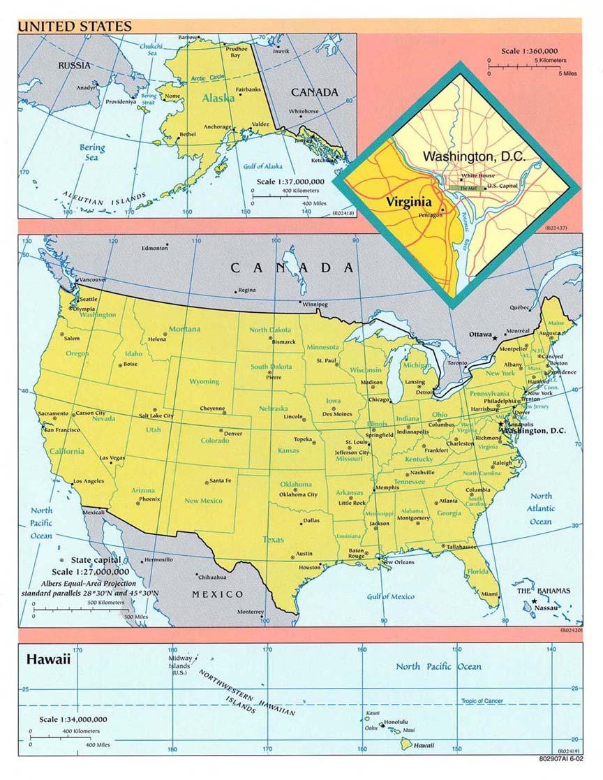 Cartina Fisica Stati Uniti Da Stampare.Stati Uniti D America America Settentrionale Americhe