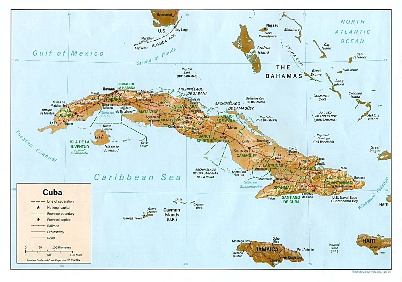 Cartina Politica Dei Caraibi.Cuba Caraibi Americhe Paesi Home Unimondo Atlante On Line