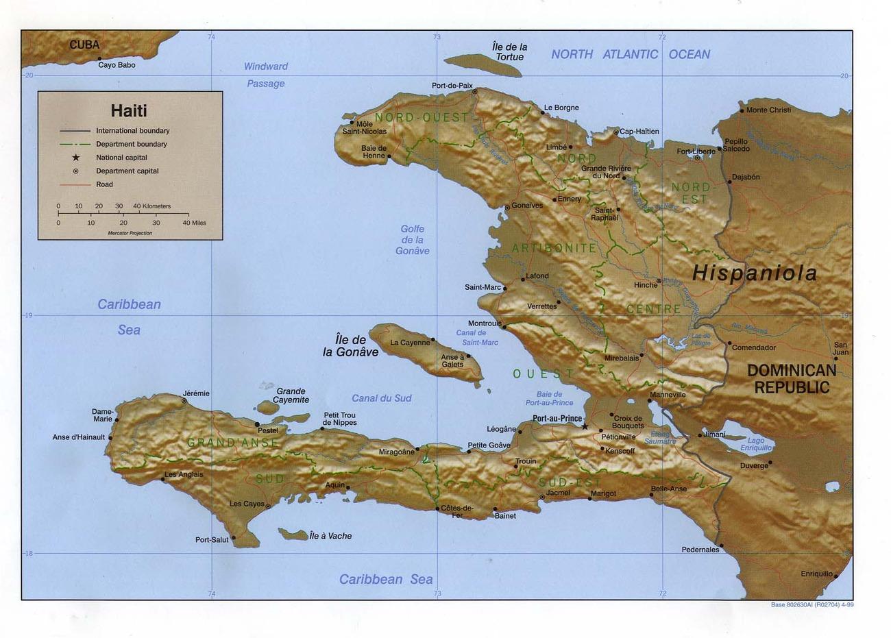 Cartina Geografica Haiti.Haiti Caraibi Americhe Paesi Home Unimondo Atlante On Line