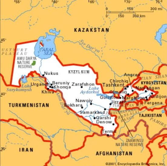 economy of kazakhstan and uzbekistan At the outset of their transition to a market economy, the social and economic indicators in the central asian states of the former soviet union--kazakhstan, the kyrgyz republic, tajikistan, turkmenistan, and uzbekistan--generally fell short of the standards of the region as a whole notably, per .