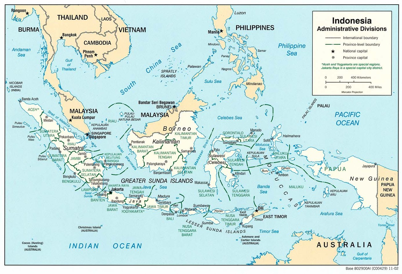 Cartina Geografica Dell Indonesia.Indonesia Asia Meridionale Orientale Asia Paesi Home Unimondo Atlante On Line