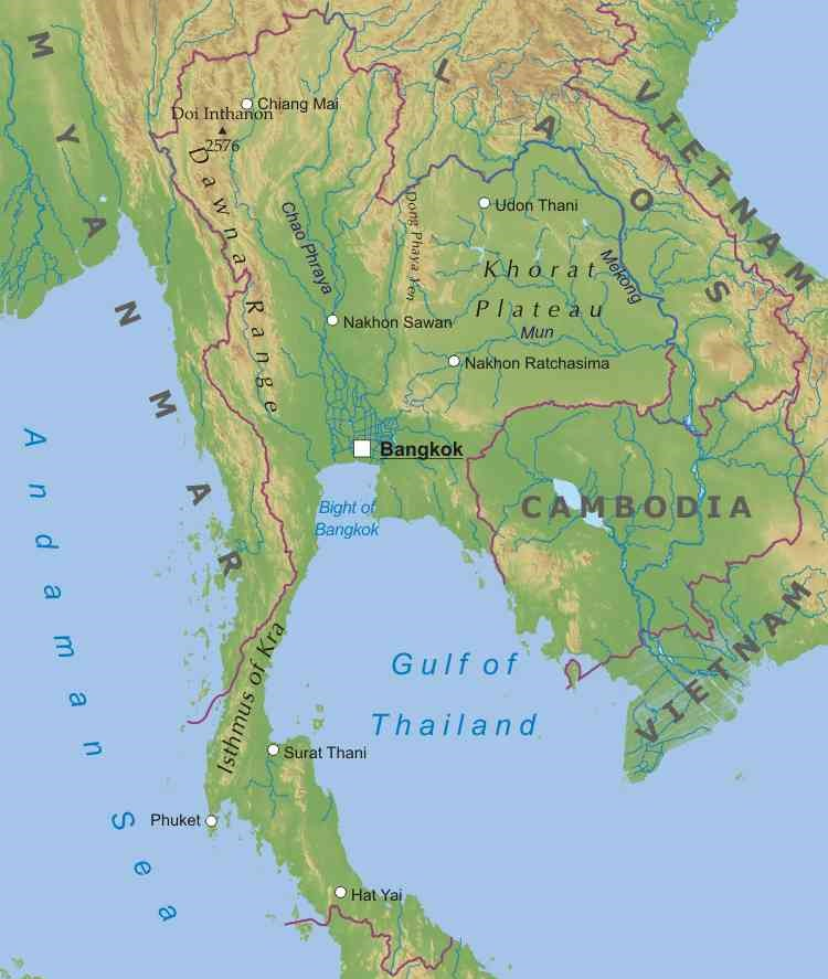 Thailandia Cartina Geografica.Thailandia Lessons Tes Teach