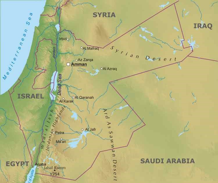 Cartina Israele Giordania.Giordania Lessons Blendspace