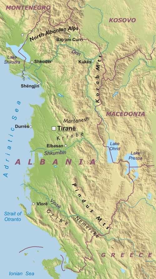 Cartina Di Albania.Albania Europa Meridionale Europa Paesi Home Unimondo