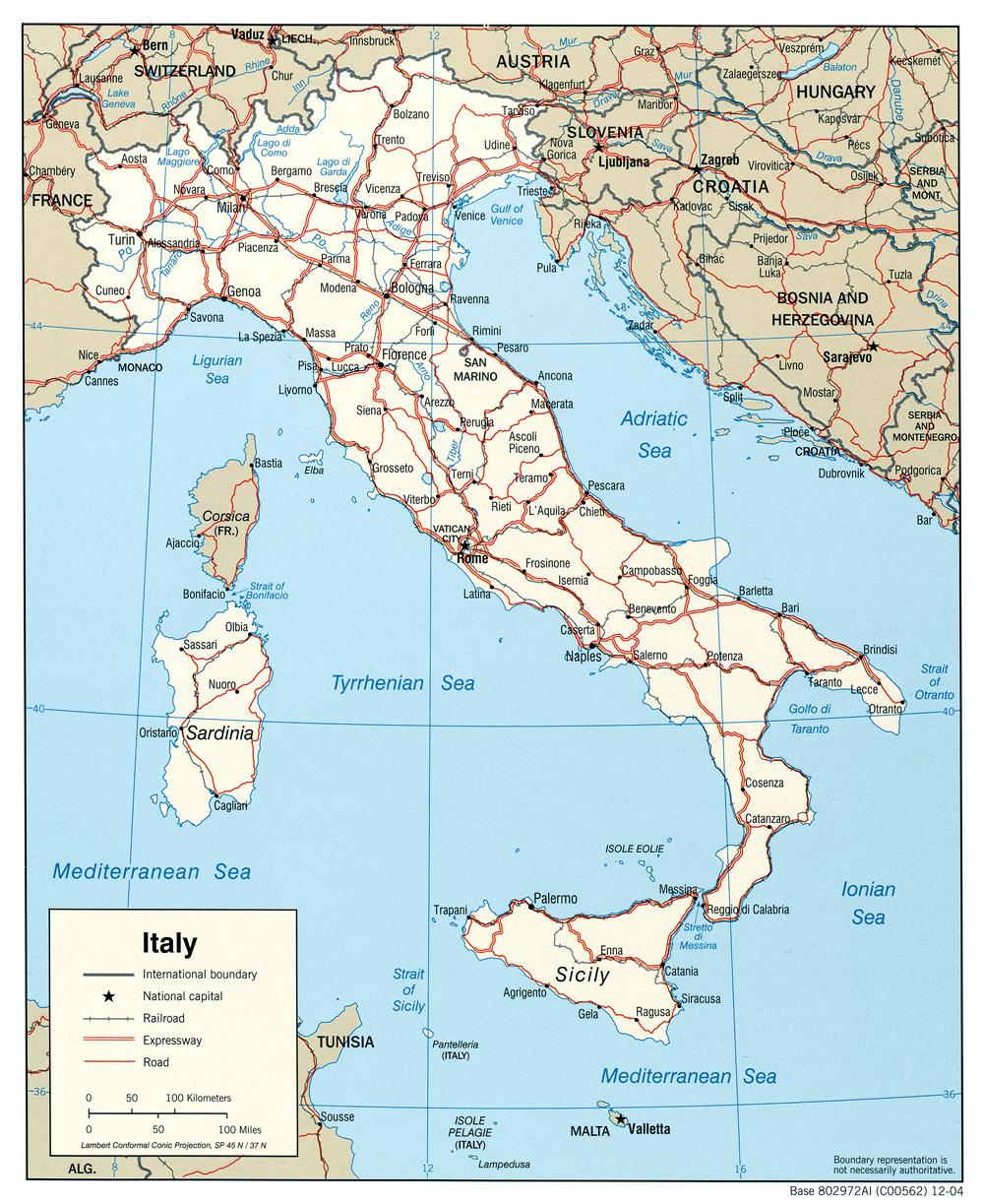 Cartina Geografica Europa Meridionale.Italia Europa Meridionale Europa Paesi Home Unimondo Atlante On Line
