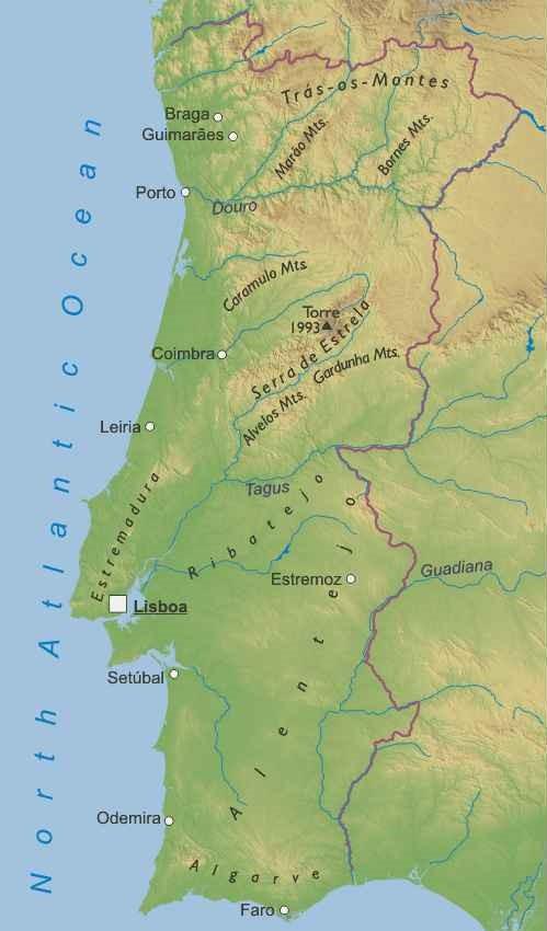 Cartina Portogallo Da Stampare.Portogallo Europa Meridionale Europa Paesi Home