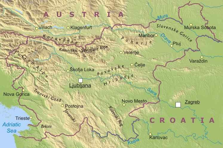 Portorose Slovenia Cartina Geografica.La Slovenia Lessons Blendspace