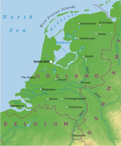Olanda Cartina Fisica E Politica.Paesi Bassi Europa Occidentale Europa Paesi Home Unimondo Atlante On Line
