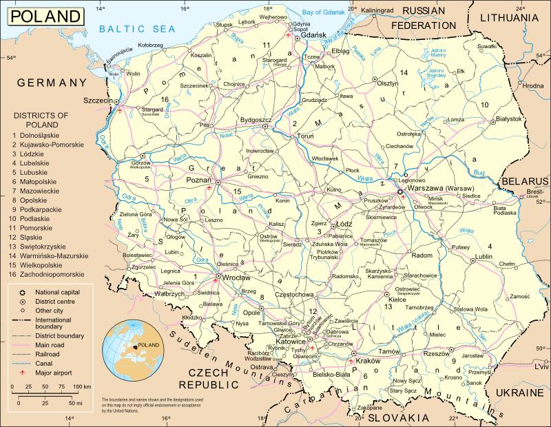 immagine di mappa stradale mappa stradale Baviera - Germania Sud - edizione  2013