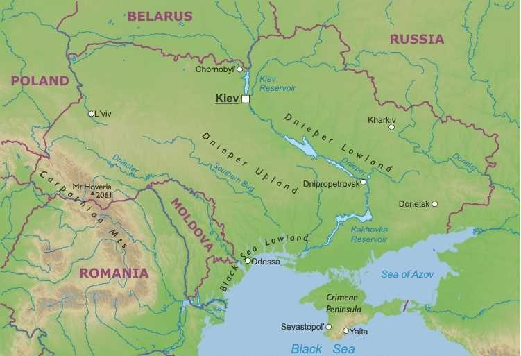 Cartina Fisica Europa Orientale.Ucraina Europa Orientale Europa Paesi Home Unimondo Atlante On Line