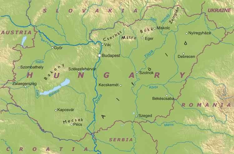 Cartina Geografica Europa Budapest.Geo 2 Svizzera Austria Ungheria Lessons Tes Teach
