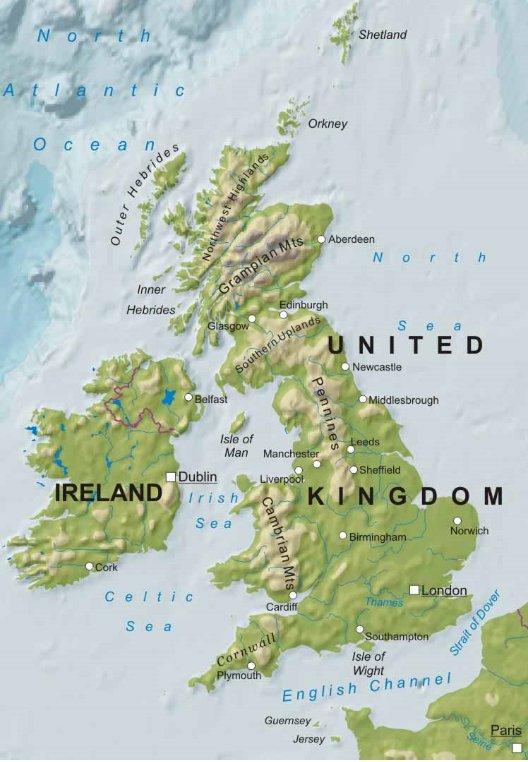 Cartina Fisica Regno Unito In Italiano.123scuola Com Ii Media Unita 5 La Regione Britannica